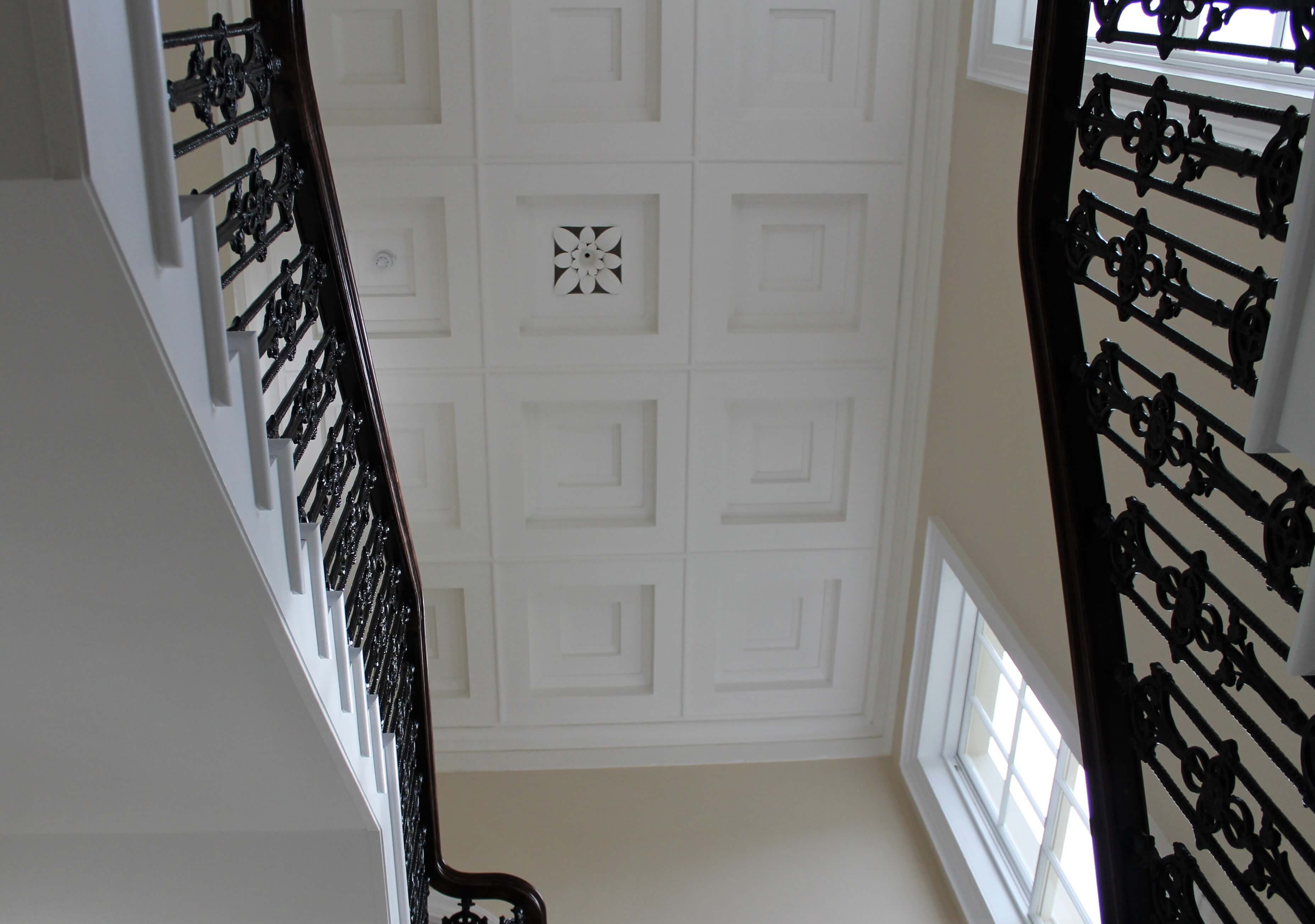 Greenbank stairs ceiling