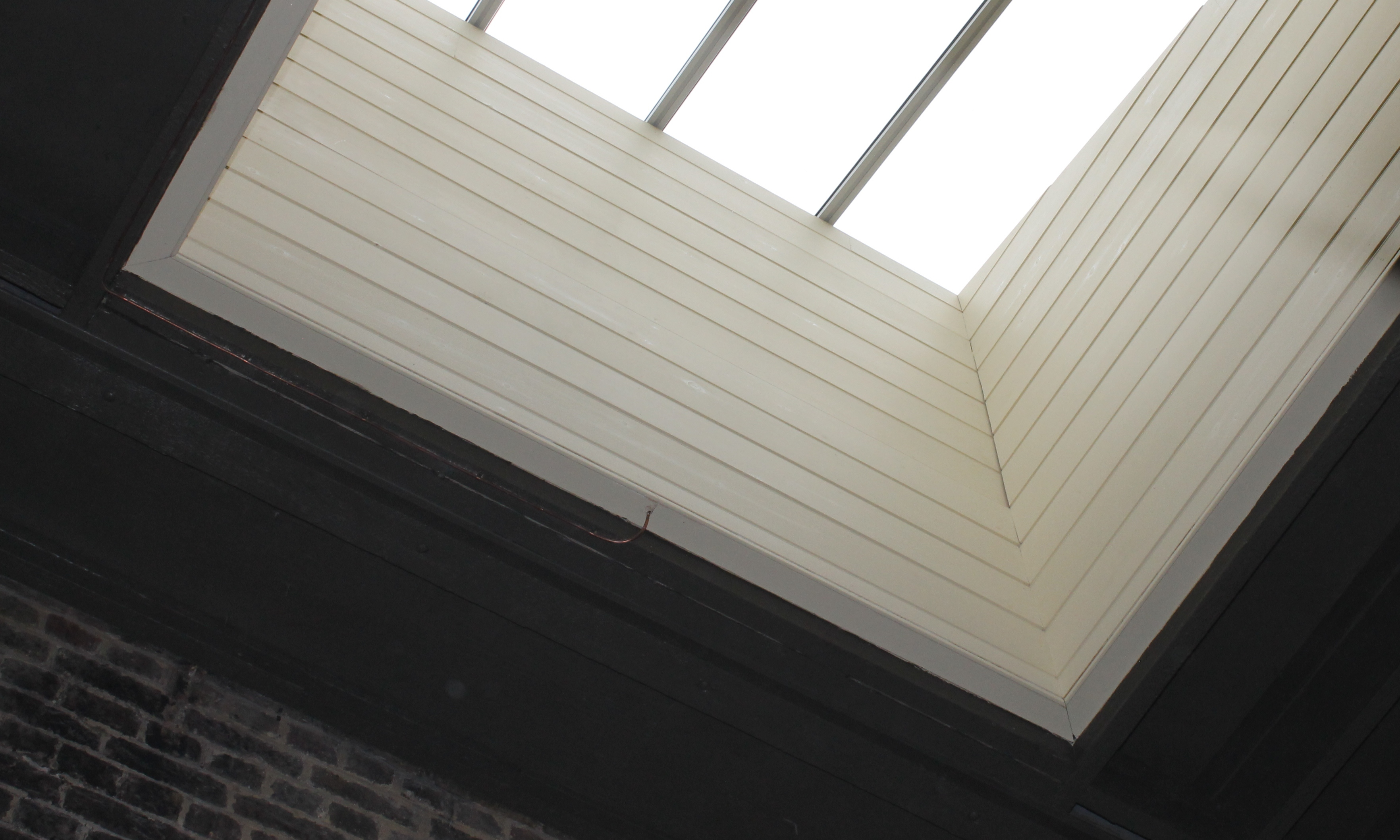 Wiltons completed skylight