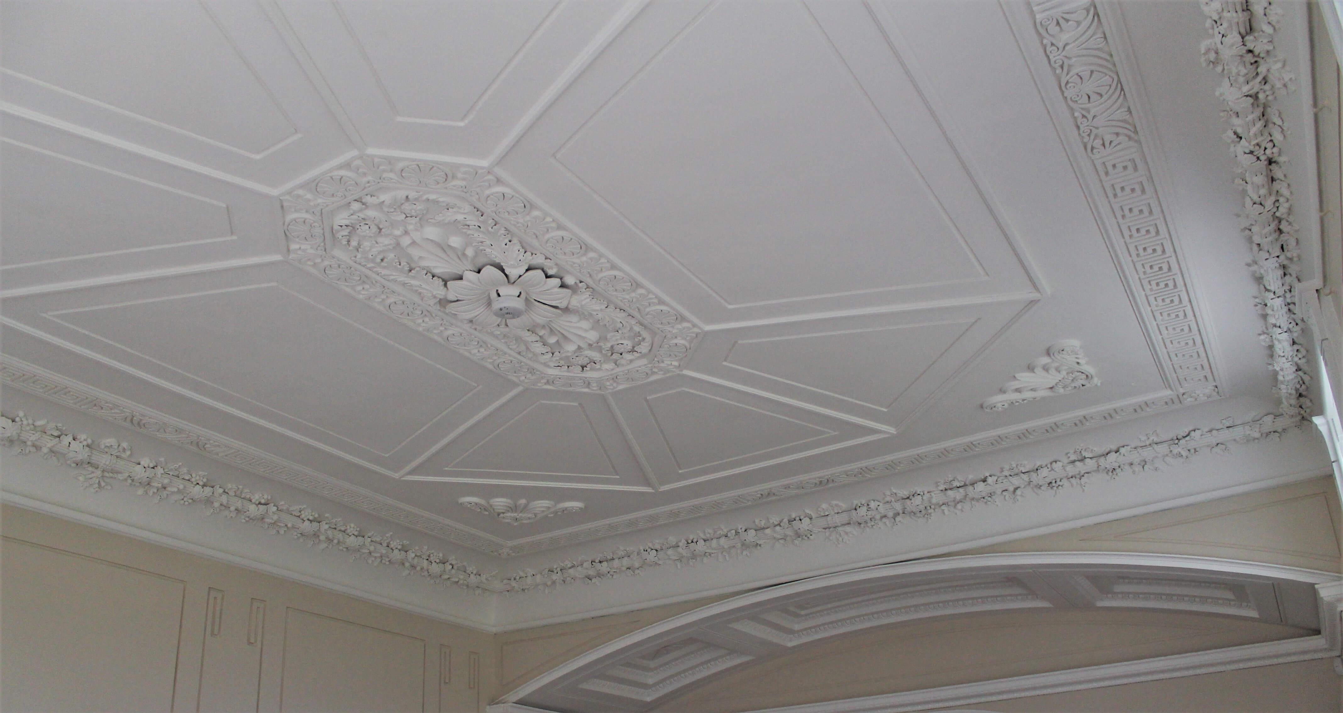 Greenbank Ornate ceiling